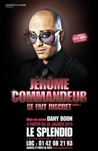 Jérome COMMANDEUR affiche